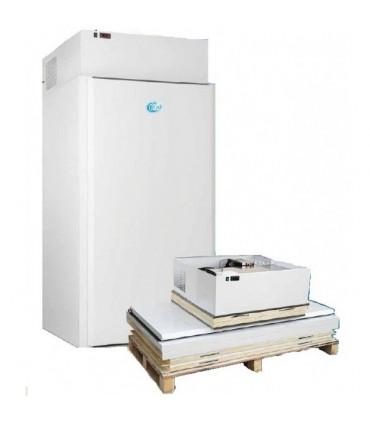 Chambre froide mini positive 0ºC / +10ºC groupe tropicalisé +43°C. 1320 L à monter - CHF 132 TN DAP