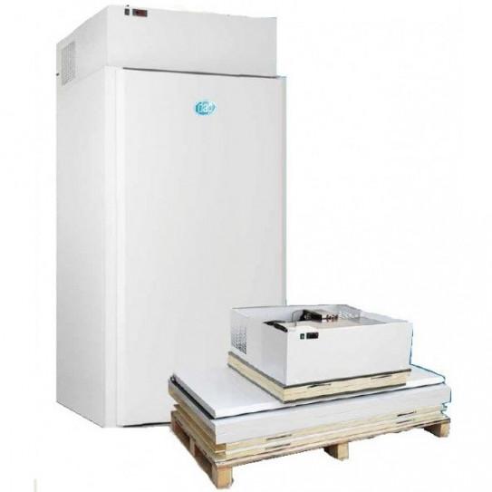 Chambre froide mini négative -18ºC / -20ºC groupe tropicalisé +43°C. 1320 L à monter - CHF 132 BT DAP
