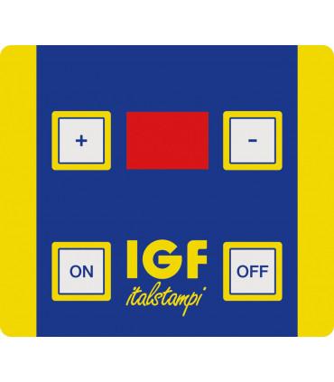 Timer minuteur programmable et commande pétrin IGF série 2400 et 2200-TOP