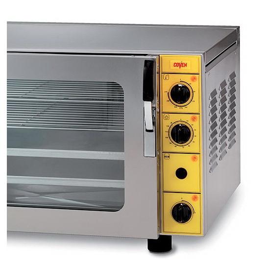 Commandes mécaniques four convection pâtisserie électrique, 4 niveaux 60x40 cm + humidificateur mono ou tri – EP4 (TEC4P) COVEN
