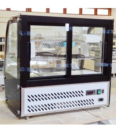 Vitrine réfrigérée ventilée top vue arrière - 7450.0605 HTR100 Combisteel - Modèle expo StockResto