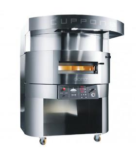 Four pizza GIOTTO CUPPONE GT110 électrique sole tournante Ø 110 cm (hotte sur le dessus en option)