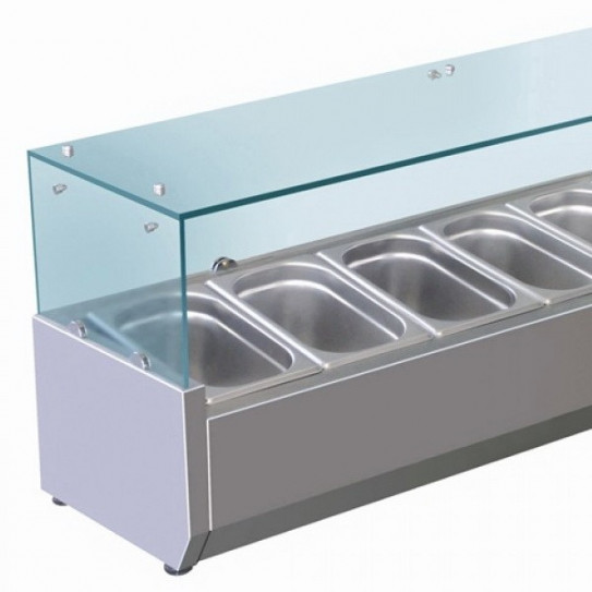 Vitrine à ingrédients réfrigérée détail VRX /380
