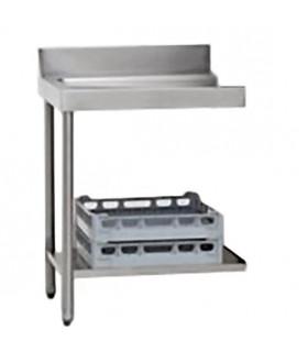 Table de sortie à gauche 70x75x85cm pour lave-vaisselle à capot  - AAL0120 MBM