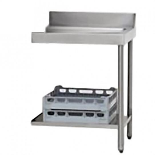 Table de sortie à droite 70x75x85cm pour lave-vaisselle à capot  - AAL0118 MBM