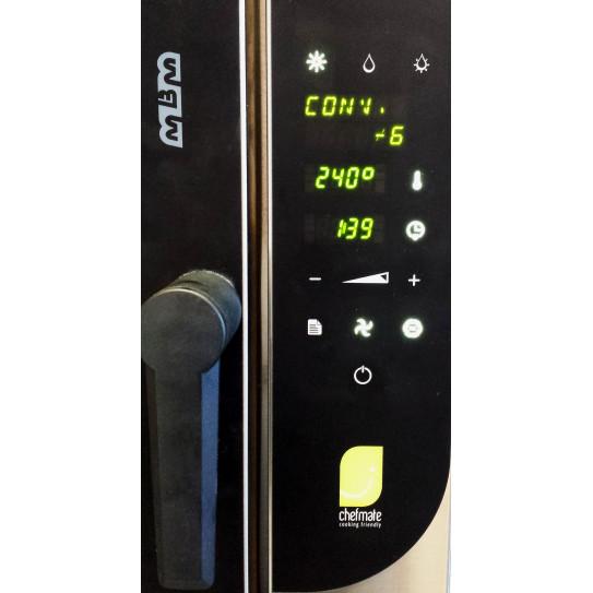Chefmate panneau de commande sensitive touch four mixte CME6W MBM