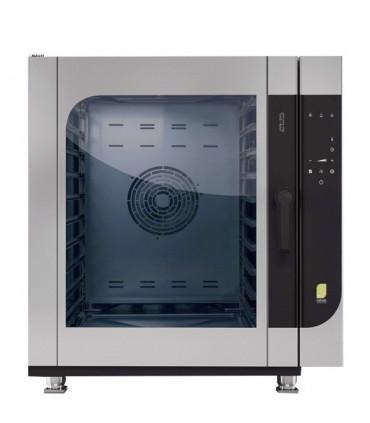 Four mixte électrique + Lavage automatique 10 niveaux CME10 W Chefmate MBM