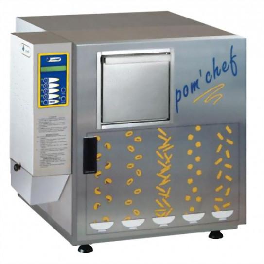 Pom'chef friteuse électrique de bar s'utilise sans hotte - 9L - 600g/cycle de frites - KL3 euroChef