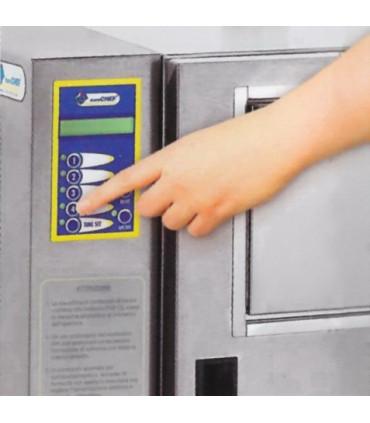 2 - Sélectionner le temps de friture désiré - Pom'chef friteuse automatique de bar sans hotte aspirante - KL3