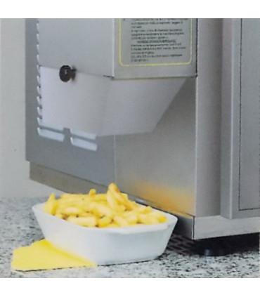 3 - Le produit prêt sort automatiquement - Pom'chef friteuse automatique de bar sans hotte aspirante - KL3