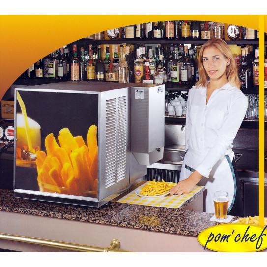 Pom'chef friteuse électrique automatique de comptoir pour bar sans hotte aspirante KL3 euroChef