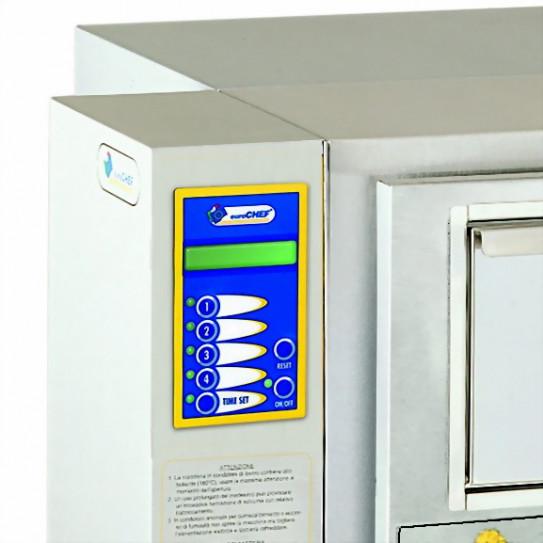 Panneau de commande et afficheur pom'chef friteuse électrique de bar sans hotte KL3 euroChef