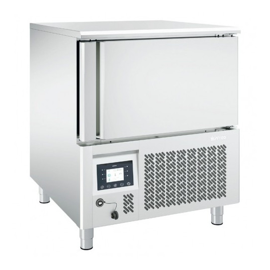 Cellule de refroidissement et de surgélation 5 niveaux GN1/1 ou 60x40 - ABT51L Infrico