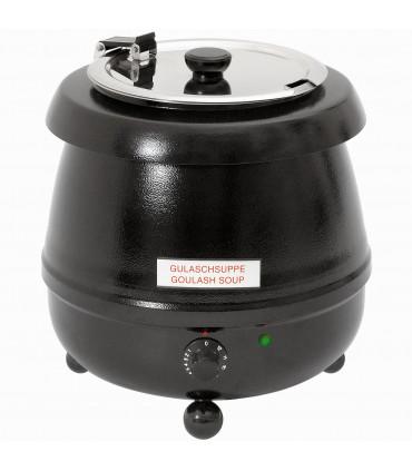 Marmite à soupe : soupière électrique professionnelle 9 litres - CMS2 Casselin