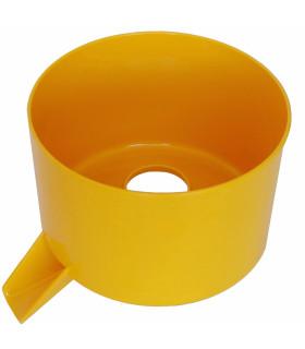 Cuve à jus jaune de presse-agrumes Santos n°11- 11204 NJ SANTOS