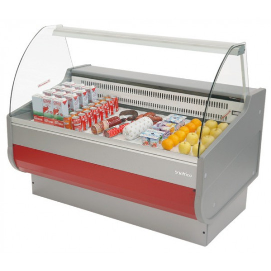 Vitrine réfrigérée de comptoir 1m Couleur Grenad Ral3003