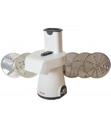 Râpe électrique Jupiter Shredder + INCLUS : 5 disques coupeurs, râpeur, éminceurs Ø 150 mm - JUPITER 860 152