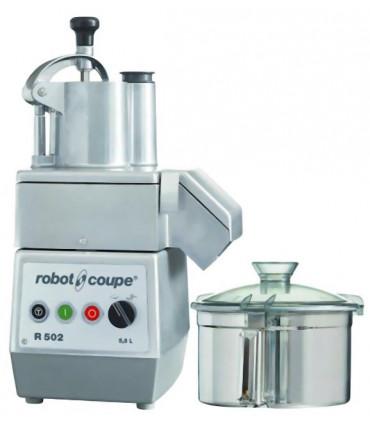 Combiné Cutter et Coupe-légumes R502 Robot-Coupe 2 vitesses - Triphasé 400 V - Réf 2483