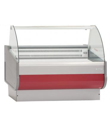 Vitrine réfrigérée de comptoir 1000 couleur grenad Infrico