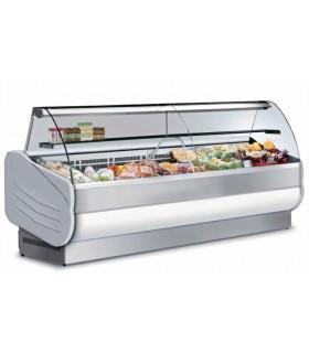 Vitrine réfrigérée ventilée de comptoir 2500 + étagère intermédiaire - 250 VC URBAN ISOTECH
