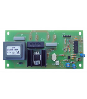 Carte électronique de puissance pour façonneuse pizza IGF 2300 L40 L30 ou GAM - Dim plaque ≃ 125x62mm