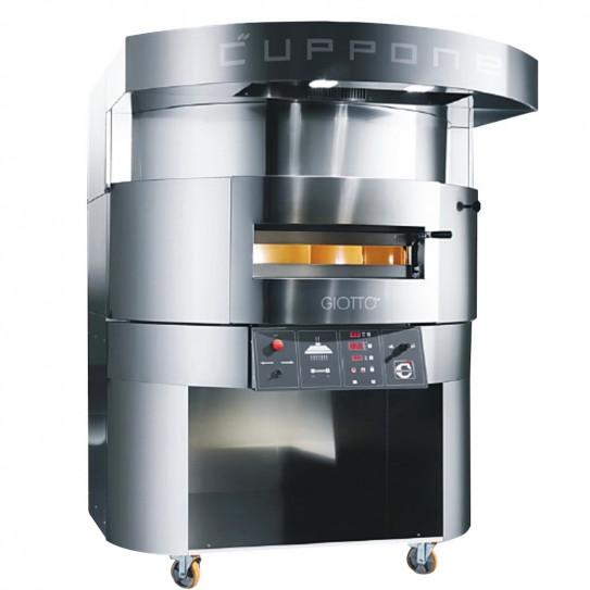 Four pizza GIOTTO CUPPONE GT140 électrique sole tournante Ø 140 cm (hotte sur le dessus en option)