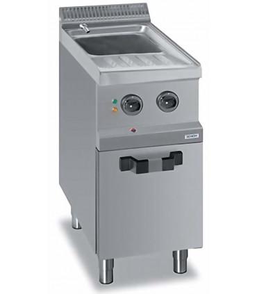 Cuiseur à pâtes électrique 26 L sur coffre DEXION EXPRESS D77EC4SC