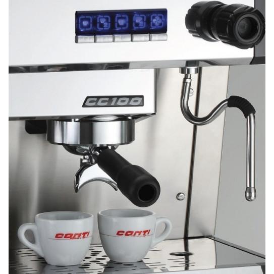 Détail machine à café espresso CONTI CC100
