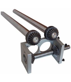 Kit engrenage métallique livré en pièces à monter pour bloc bas Jilo 42 DSA 420 Prismafood 7G010096