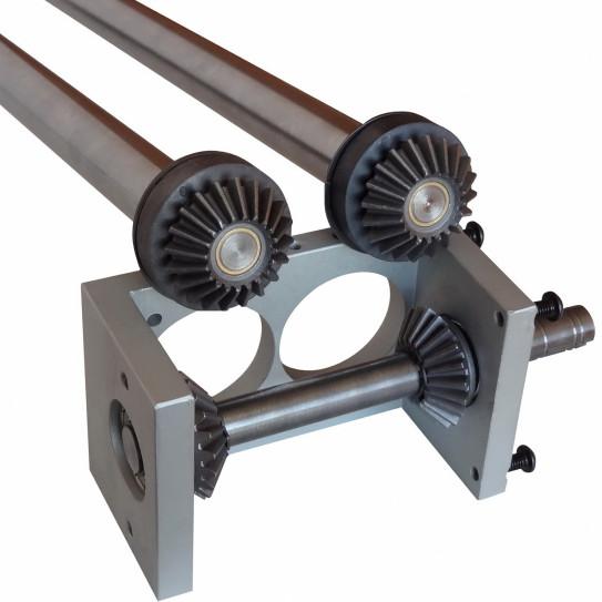 Kit engrenage métallique livré en pièces à monter pour bloc haut Jilo 42 DSA 420 DPF SP Prismafood 7G010095