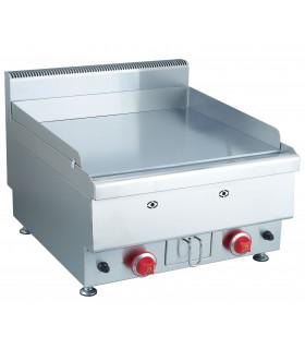 Plaque à snacker gaz 600x650 12 kW tout inox
