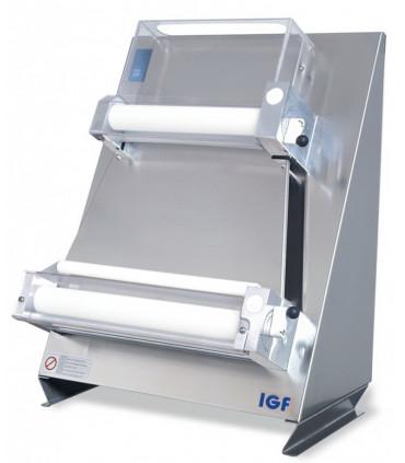 Laminoir pizza renforcé rouleaux parallèles Ø sortie 40 cm IGF 2300/L40P GEMMA INOX