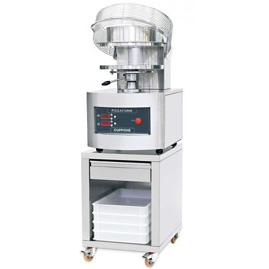 PZF/50 Pizzaform™ presse pizza 50 cm CUPPONE + support inox (en option)