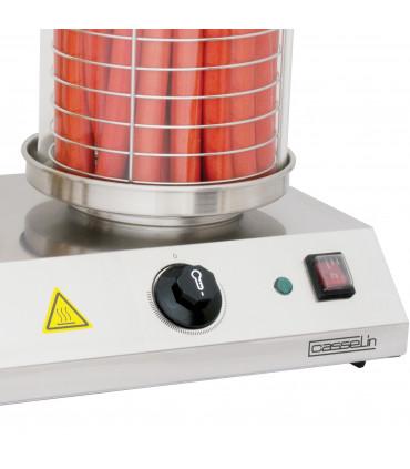 Détail appareil à Hot-Dog 4 plots 1 kW - CMH1 Casselin