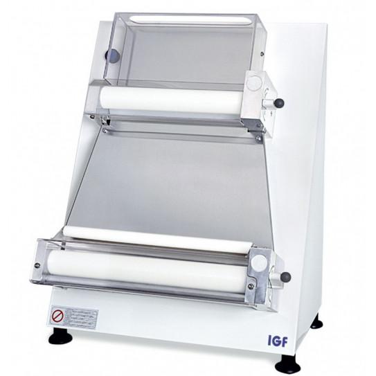 Laminoir pizza renforcé rouleaux parallèles Ø sortie 40 cm IGF 2300/B40P GEMMA Coque blanche