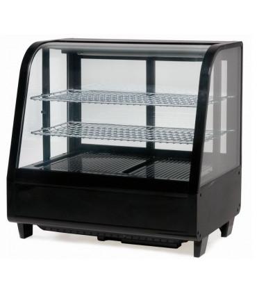 Vitrine réfrigérée ventilée à poser 100 L froid positif  noire - CVR100LN Casselin RTW-100L KATRIN