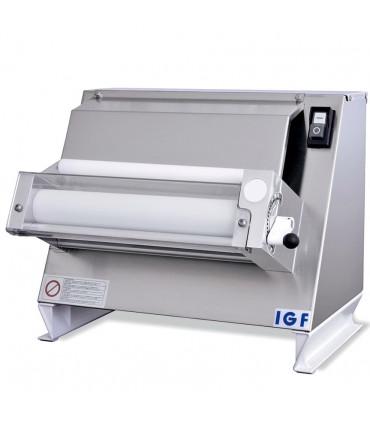 Laminoir pizza verticale Ø sortie 40 cm formeuse 1 couple de rouleaux - 2300/M40 IGF