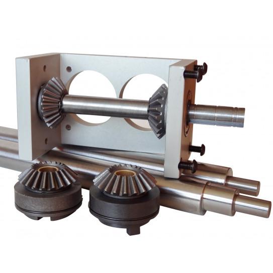 Kit engrenage métallique livré en pièces à monter pour bloc bas Jilo 31 DSA 310 Prismafood 7G010094