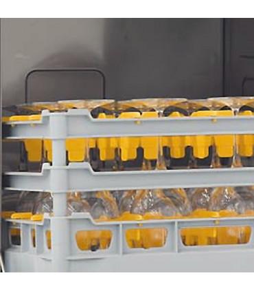 Lave-vaisselle LS506T panier 500 x 500. L'ouverture de porte de 34 cm permet de laver des verres d'une hauteur de 30,5 cm
