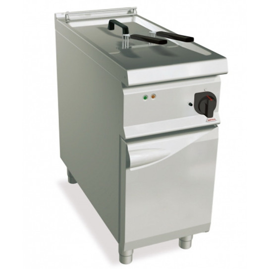 Friteuse électrique 22L 2 paniers 22kW -  40x90x90cm - BERTO'S S900 SE9F22-4MS 13515700
