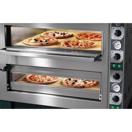 Détail four pizza électrique Tiziano TZ435/2M Cuppone