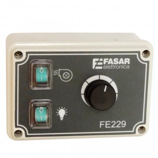 Variateur électronique de tension 4,5A mono pour moteur de hotte - FASAR FE229