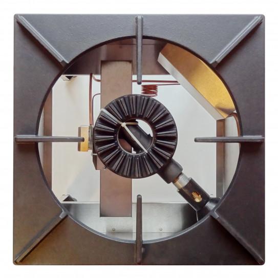 Réchaud bas gaz 500x500x450mm - Puissance brûleur 13kW - NGETL5-50 Nayati original (RGH-50 Diamond)
