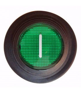 Interrupteur général arrière vert On / Off (I) laminoir pizza PASTALINE GIOTTO D45 D30 MP/10-0705