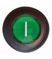 Interrupteur général vert On/Off arrière laminoir pizza PASTALINE VELMA D30 D45