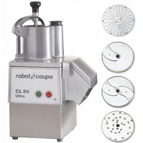 Robot-Coupe CL 50 Ultra Pizza coupe-légumes 2027 + 3 disques inclus
