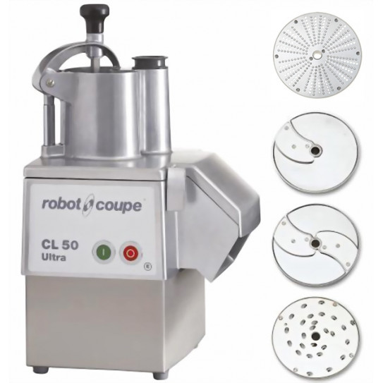 Robot-Coupe CL 50 Ultra Pizza coupe-légumes 2027 + 4 disques inclus