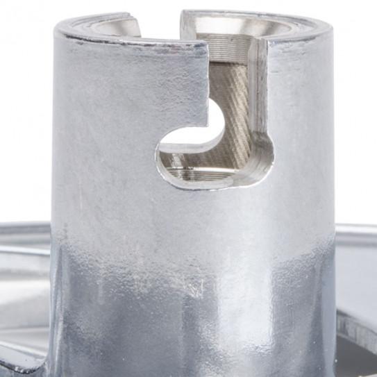 Robot-Coupe 28058 disque Ø 190 mm 2 encoches axe fixation diam. 18 mm
