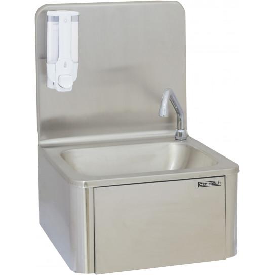 Lave-mains inox à commande fémorale grand dosseret CLV1 CASSELIN