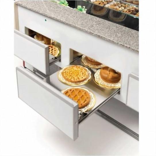 Comptoir vitrine réfrigérée chargement expo basse par tiroirs - UT22/A4 DIAMOND